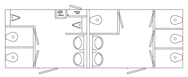 Travel Trailer Floor Plans at Probity RV