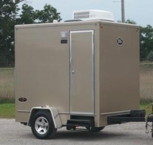 Awesome Portable Bathroom Trailers Photo